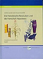 Europäische Zuckerwirtschaft, Bd. 2: Die…
