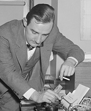 Author photo. Library of Congress Prints and Photographs Division, Harris & Ewing Collection (Reproduction Number: LC-DIG-hec-23636) (cropped)