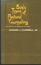Basic Types of Pastoral Care and Counseling:…