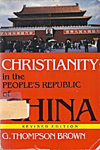 Christianity in the People's Republic of…