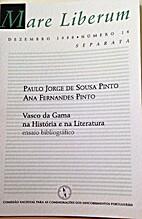 Vasco da Gama na história e na literatura.…