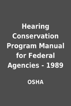 Hearing Conservation Program Manual for…