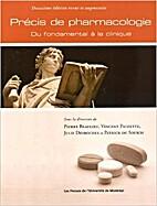 Précis de pharmacologie : Du fondamental à…