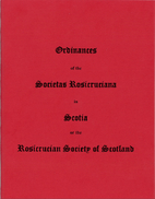Ordinances of the Societas Rosicruciana in…