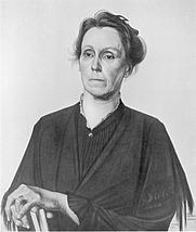 Author photo. Portrait by M. de Klerk (1884-1923)