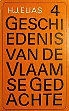 Geschiedenis van de Vlaamse gedachte vierde…