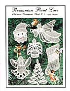 Romanian Point Lace: Christmas Ornaments…
