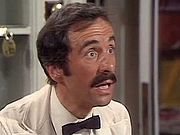 Author photo. Andrew Sachs as Manuel in 'Fawlty Towers' (BBC, 1975).