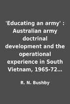 'Educating an army' : Australian army…