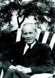 Author photo. Emil Artin. Photo by Konrad Jacobs.