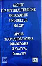 Arkhiv za srednovekovna filosofii͡a i…