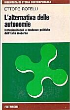 L' alternativa delle autonomie : istituzioni…