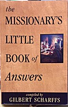 Missionary's little book of answers by…