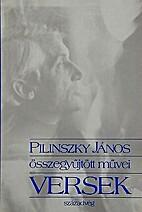 Pilinszky János összegyűjtött versei by…