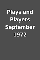 Plays and Players September 1972