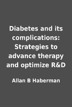 Diabetes and its complications: Strategies…