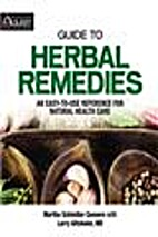 Guide to Herbal Remedies by Martha Schindler…