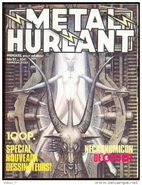Metal Hurlant No. 21 by Various Authors