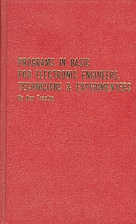 Programs in BASIC for electric engineers,…