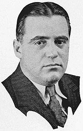 """Author photo. From """"What's In the New York Evening Journal,"""" Project Gutenberg"""
