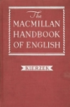 The Macmillan handbook of English by John M…