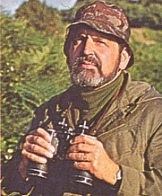 Author photo. Roger Arnhem (book cover, 1982)