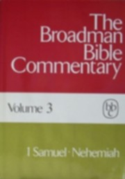 The Broadman Bible Commentary, Volume 3 by…