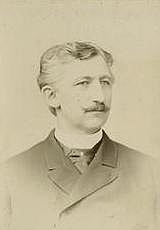 Author photo. Credit. N. Sarony, New York<br>Courtesy of the <a href=&quot;http://digitalgallery.nypl.org/nypldigital/id?102794&quot;>NYPL Digital Gallery</a><br>(image use requires permission from the New York Public Library)