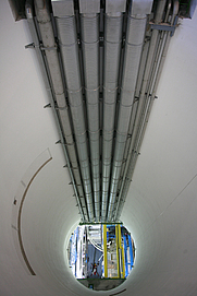 Author photo. Robert Scoble ( Collision chamber of the Large Hadron Collider at CERN )