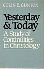 Yesterday & Today: A Study of Continuities…