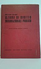 Lezioni di Diritto internazionale privato by…