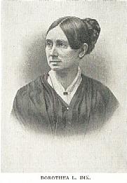 Author photo. Dorothea Lynde Dix (1802-1887) Buffalo Electrotype and Engraving Co., Buffalo, N.Y.