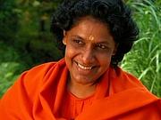 Author photo. Sri Swami Mayatitananda (Maya Tiwari) taken in 2008 at the Wise Earth Monastery in Candler, NC. by Catherine Escobedo.