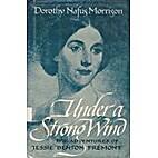 UNDER A STRONG WIND (ADVENTURES OF JESSIE…