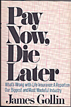 Pay now, die later: what's wrong with life…