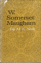 W. Somerset Maugham by M.K. Naik