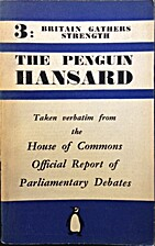 The Penguin Hansard - Volume III ( Britain…