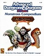 Monstrous Compendium, Al-Qadim Appendix by…