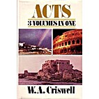 Acts (An Exposition) Volume III - Chapters…