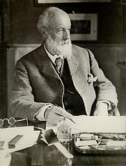 Author photo. Portrait of Heywood Sumner c. 1920