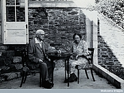 Author photo. Charles Joseph Singer (left)