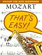 Mozart for Alto Sax by Wolfgang Amadeus…