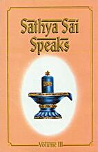 Sathya Sai Speaks Volume 3 by N. Kasturi