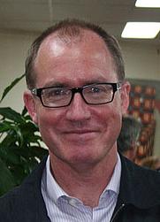 Author photo. Paul Ham. Photo courtesy of Mosman Library.
