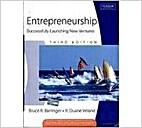 Entrepreneurship: Successfully Launching New…