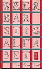 Weerbarstig alfabet by Daan van der Vat