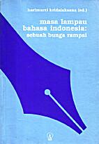 Masa lampau bahasa Indonesia : sebuah bunga…