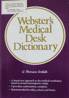 Merriam-Webster's Medical Desk Dictionary by…