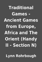 Traditional Games - Ancient Games from…