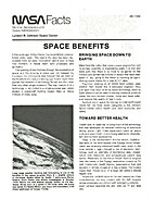 Space Benefits. by NASA Facts